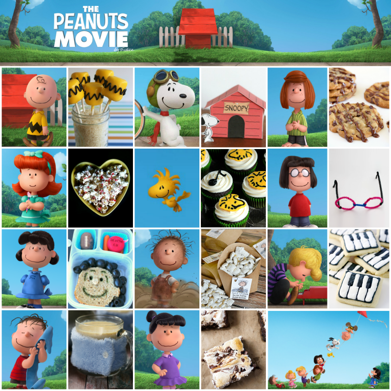 11 recipes and crafts to celebrate the new Peanuts movie