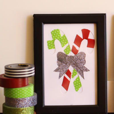 Washi Tape Christmas Art
