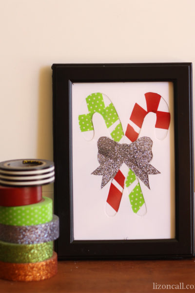 Washi Tape Christmas Art
