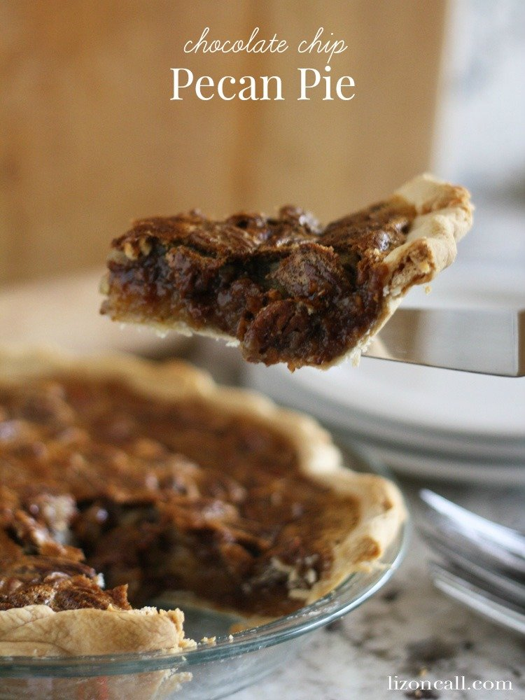 Add chocolate chips to a classic pecan pie for a delicious combination of flavors.  Get the recipe for this chocolate chip pecan pie.
