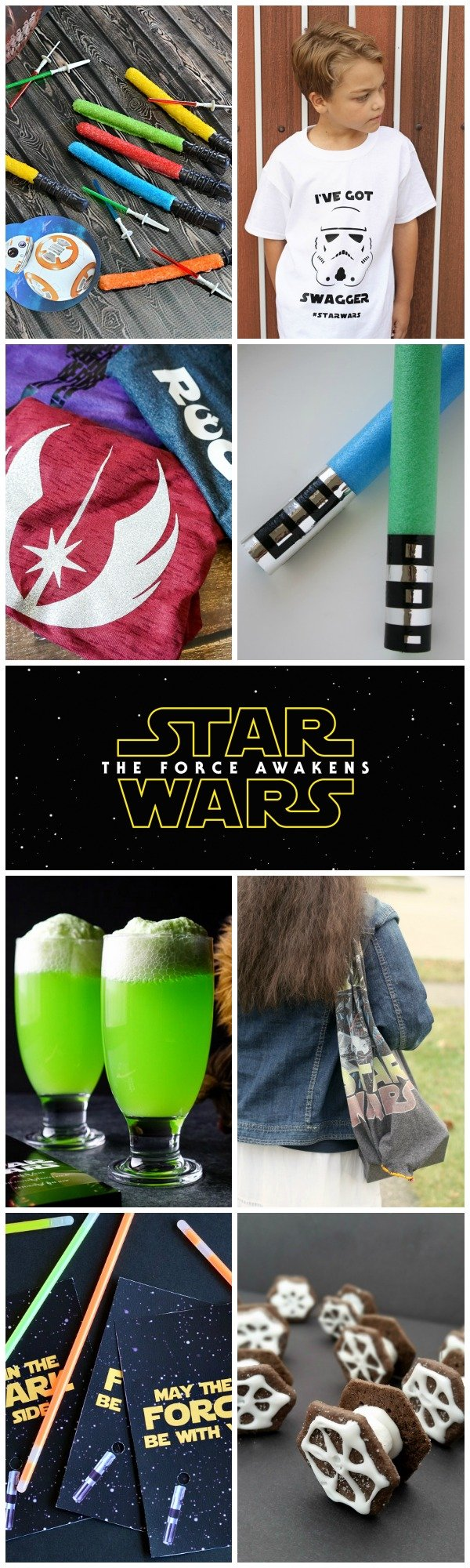 15 star wars inspired projects. Crafts, recipes and DIY ideas to celebrate The Force Awakens.