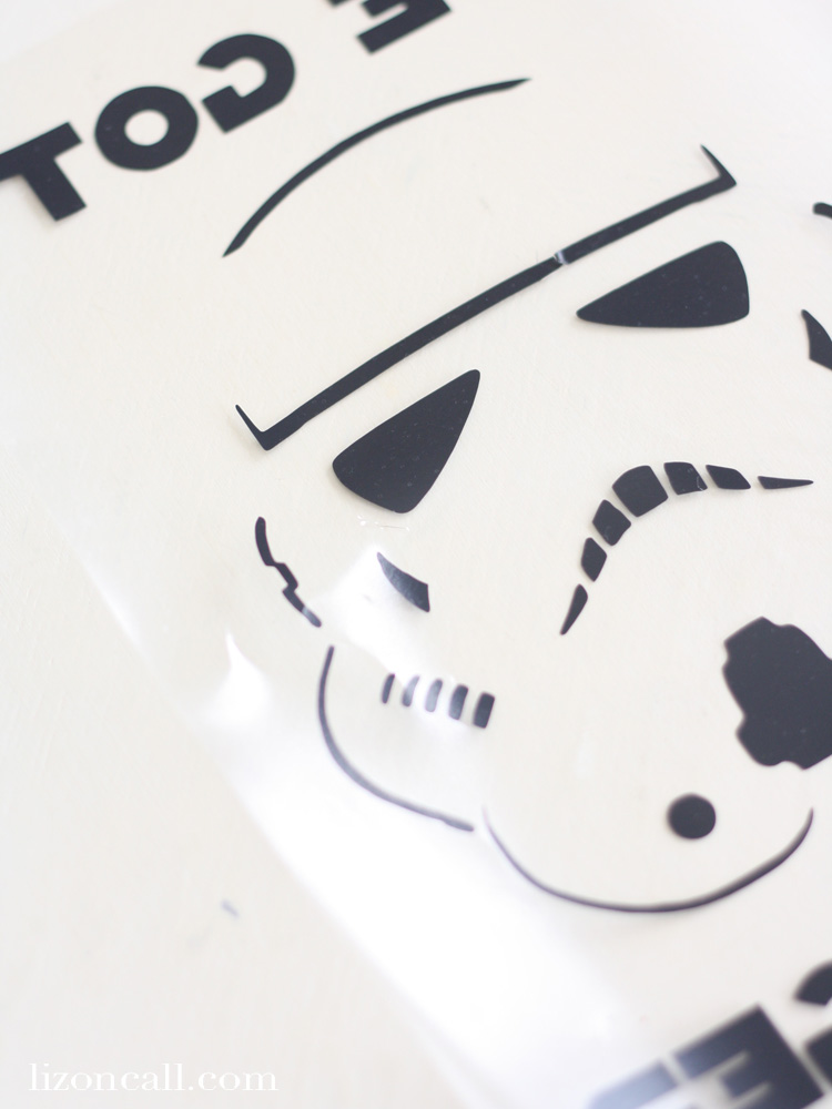 Star Wars Storm Trooper T-shirt free cut file