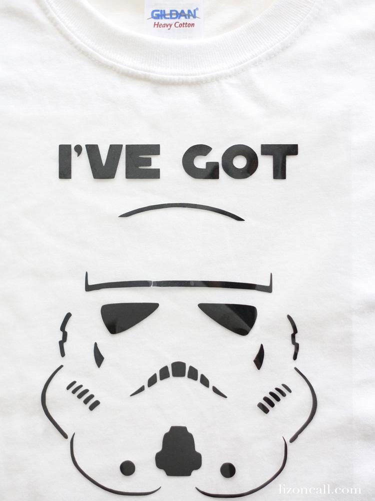Star Wars Storm Trooper T-shirt free cut file
