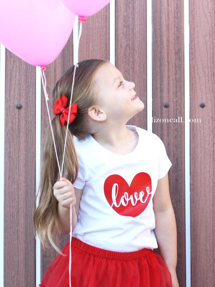 Valentine's Day love t-shirt