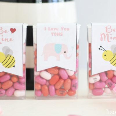 Free Printable Valentine Tic Tac Labels