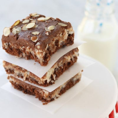 Almond Joy Sheet Cake