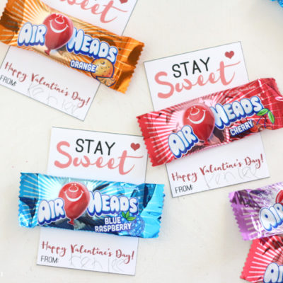 Stay Sweet Free Printable Classroom Valentines