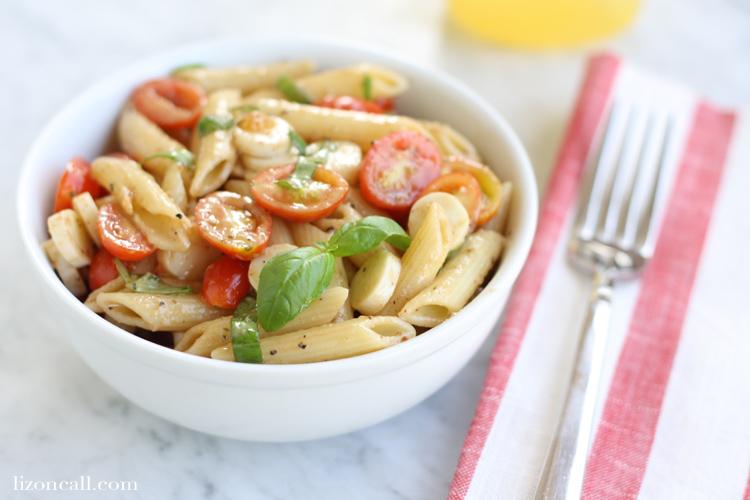 Caprese Pasta Salad 4