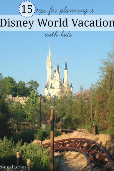 Tips for Planning Disney World Vacation with Kids