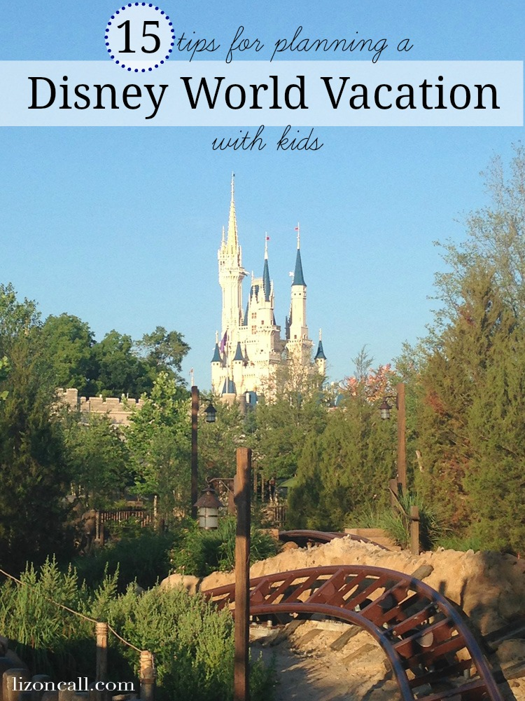 These tips for planning a Disney World vacation with kids will help you have the best family vacation ever! And they may even help save your sanity and maybe even a little money.