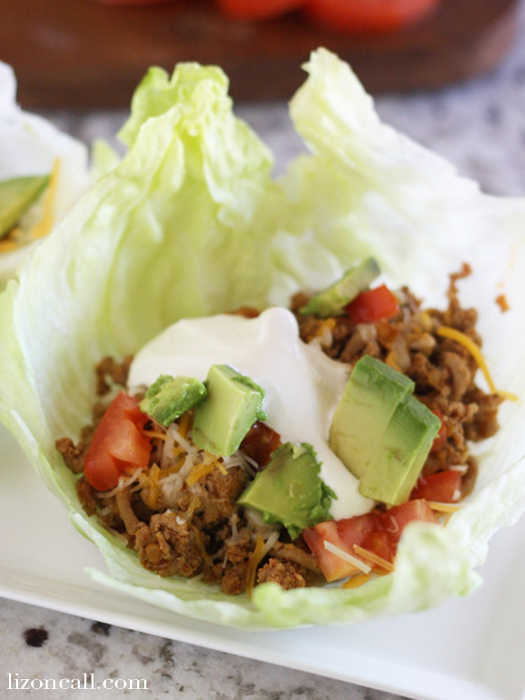 These Turkey Taco lettuce wraps a healthier way to eat your favorite food.