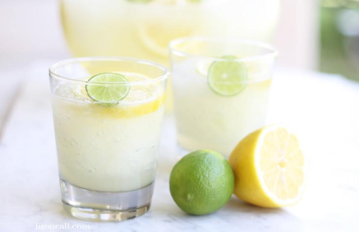 Lemon Lime Slush Party Punch