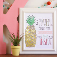 Free Pineapple Printable