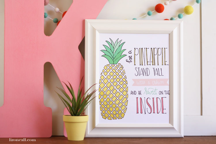 Be a Pineapple Print 4