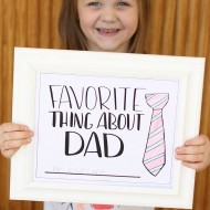 Dad's Favorite Things Gift Idea