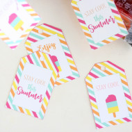 Stay Cool Summer Gift Tags