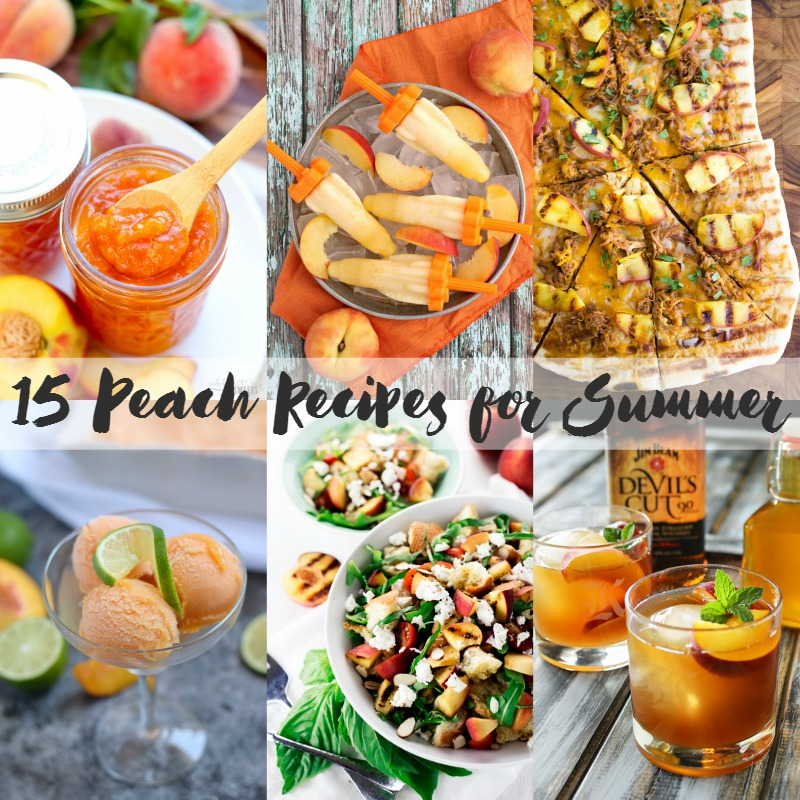 15 Peach recipes that are perfect for summer