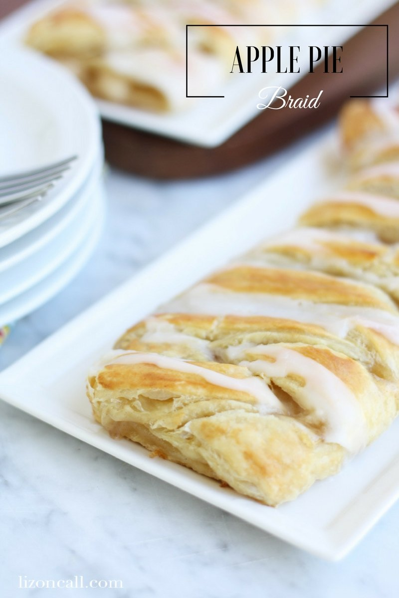 This easy apple pie braid is so quick and easy to make. In 30 minutes you will have a delicious fall dessert. These are great for brunch too.