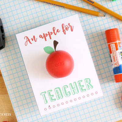 Back to School EOS Teacher Gift