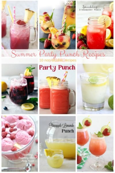 Summer Party Punch Recipes