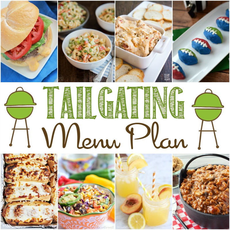 Impress all your game watching buddies at your next pre game cookout and whip up some of these amazing dishes on this tailgating menu plan.