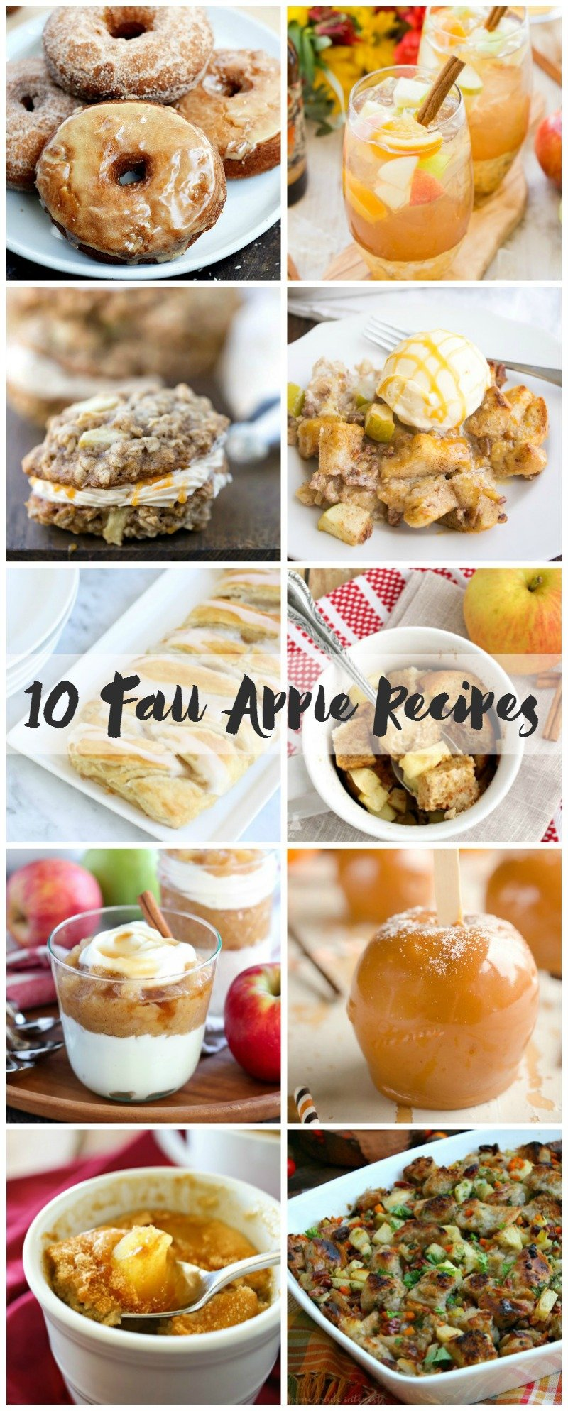 10 fall apple recipes to satisfy your fall apple cravings.