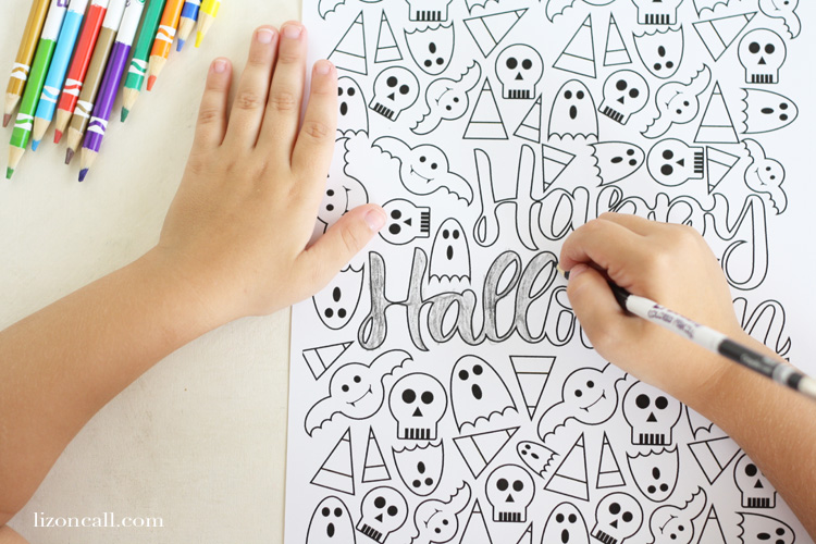 Get ready for Halloween with this fun free printable Halloween coloring page. It's fun for both kids and adults.