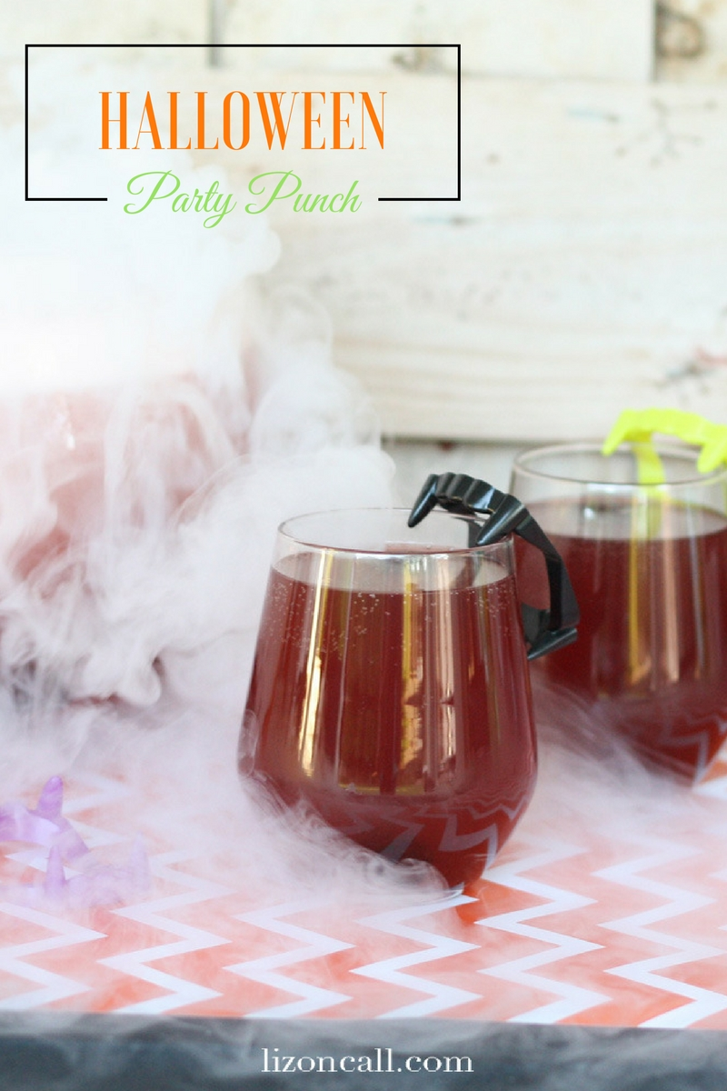 Set the mood for your Halloween party. This black magic Halloween party punch recipe will be a hit with guests young and old.