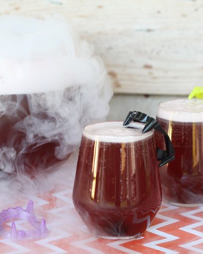Black Magic Halloween Party Punch Recipe