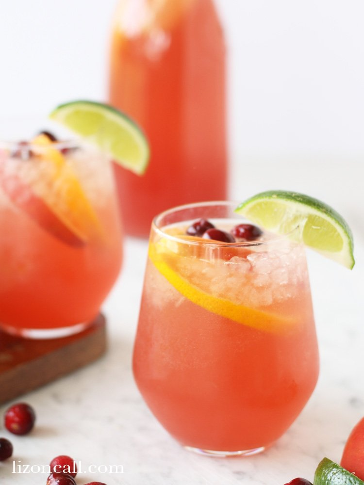 non-alcoholic party drinks made with fruit juice