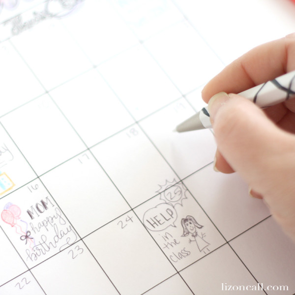 Yearly Calendar coloring pages for the 12 months of the year. Year round coloring fun for adults and kids.