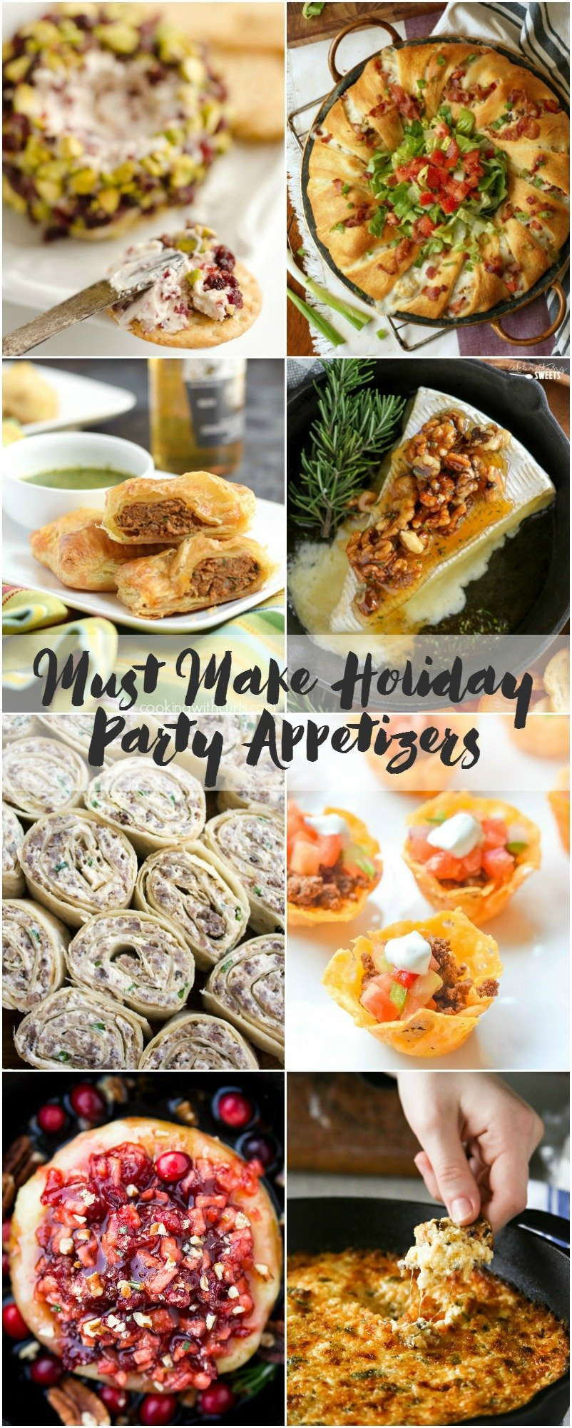 Must have holiday appetizers to wow your party guests.