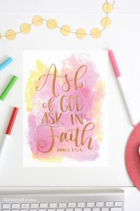 2017 LDS Youth Theme Printables
