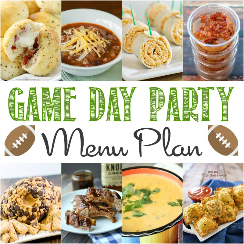 No super bowl party is complete with out delicious food. Check out this game day party menu and amaze all your game watching friends.