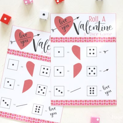 Roll a Valentine Game