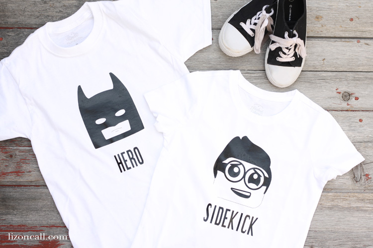 Let the kids show off their favorite hero or sidekick with these Lego Batman Movie t-shirts.