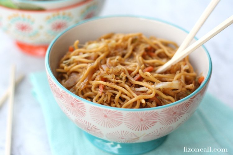 No need to go out for dinner. Stay in and enjoy this easy chow mein recipe that takes 20 minutes to make.