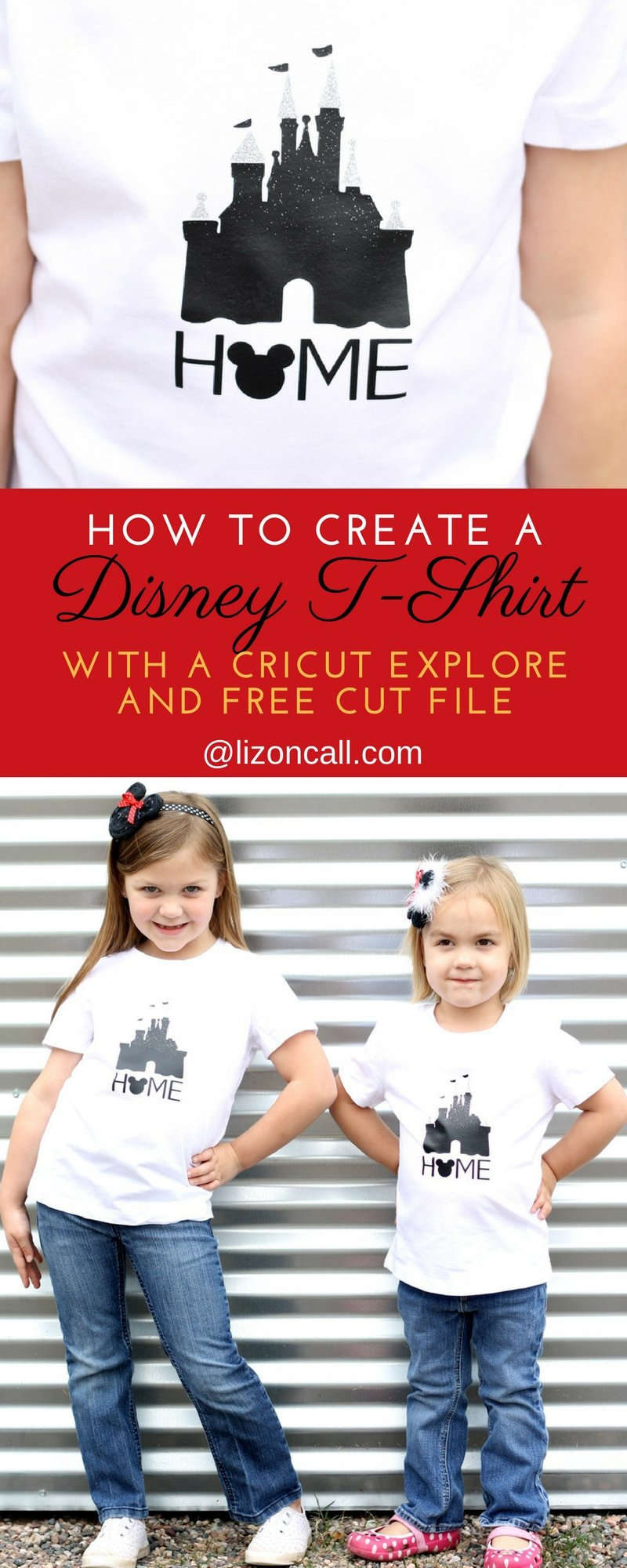 One of my favorite things to make for my kids are custom t-shirts. In this tutorial I show you how to make a custom t-shirt with the Cricut Explore Air 2. It's even more fun when it's a Disney T-shirt!