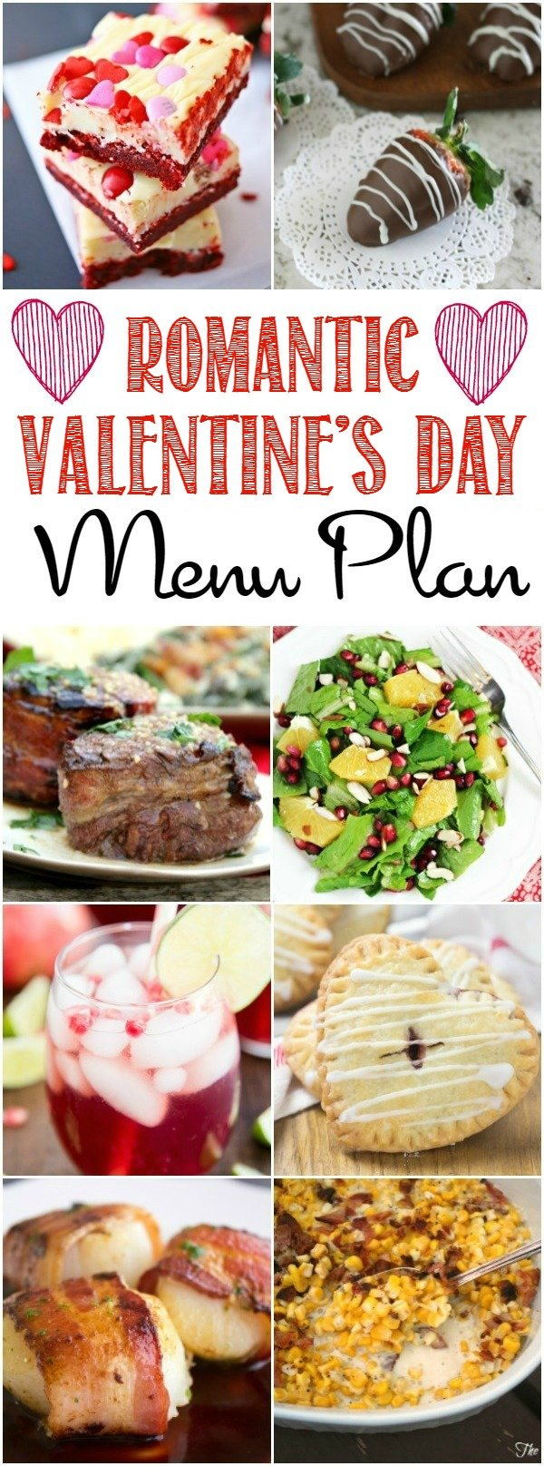 We've got all the recipes you need with this romantic Valentine's Day dinner menu plan to surprise your loved one with a night in.