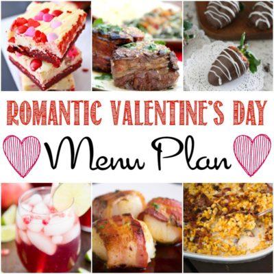 Romantic Valentine's Day Dinner Menu Plan