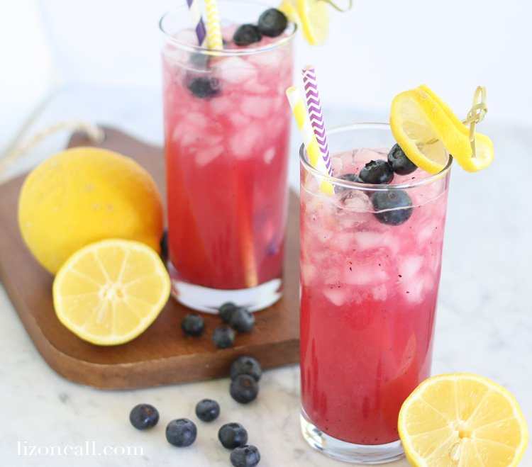 Take ordinary to extraordinary this summer with a pitcher of blueberry lemonade.