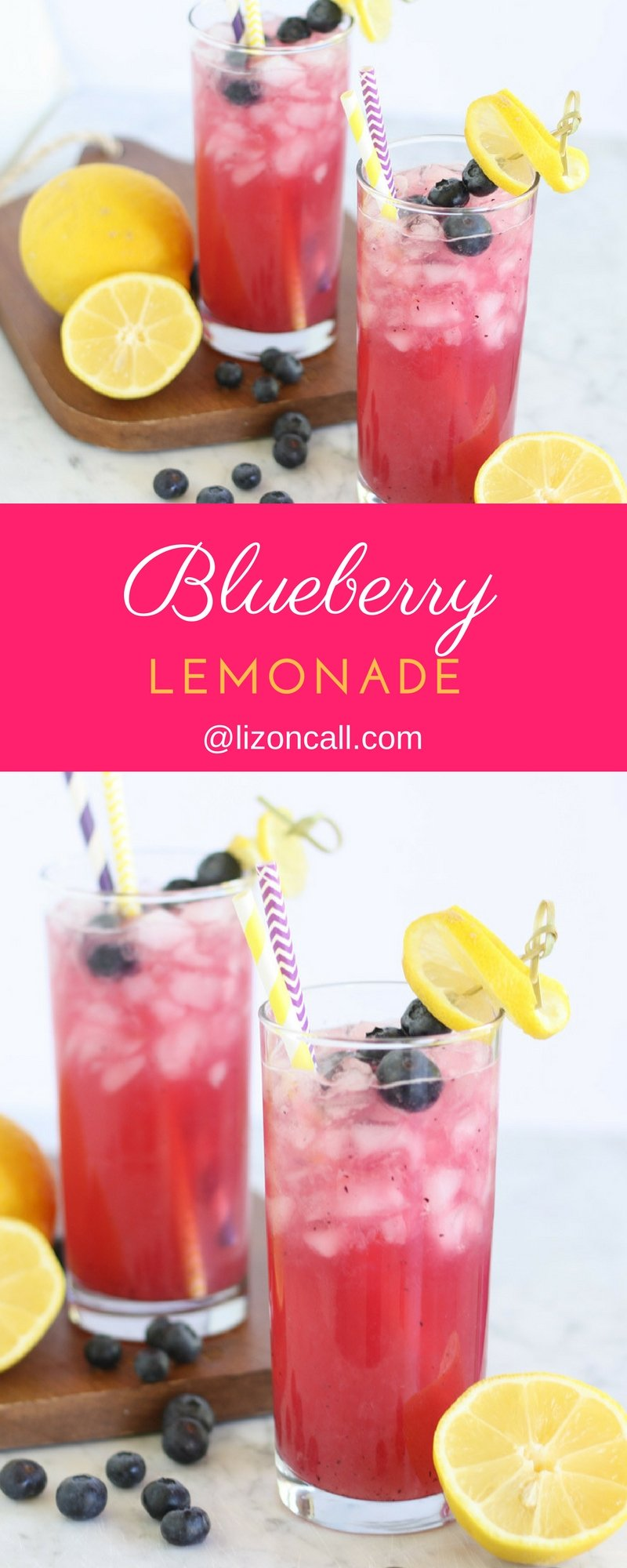 Take ordinary to extraordinary this summer with a pitcher of this blueberry lemonade.