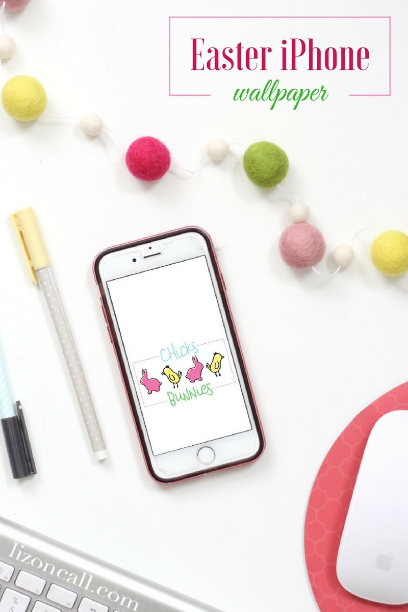 Download one of these 4 free Easter iPhone wallpaper digital designs to get your gadgets ready for Easter.