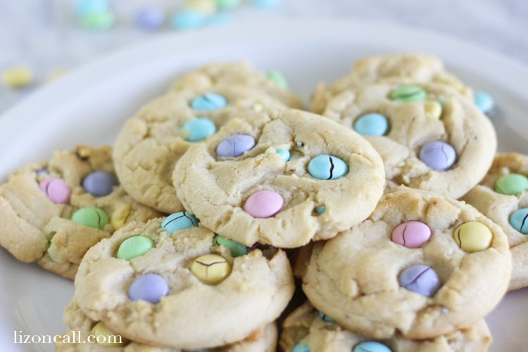 Skip the chocolate chips and make this colorful m&m cookie recipe for your next family get together.