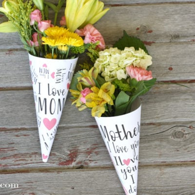 Mother's Day Flower Wrappers