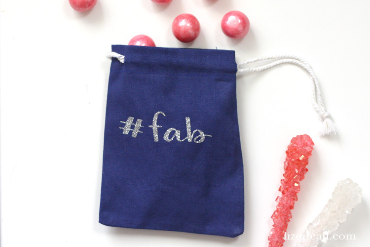 Create a fun present for your friends or loved ones, when you personalize a gift bag with heat transfer vinyl.