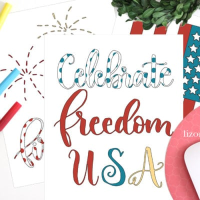 Free Patriotic Coloring Book