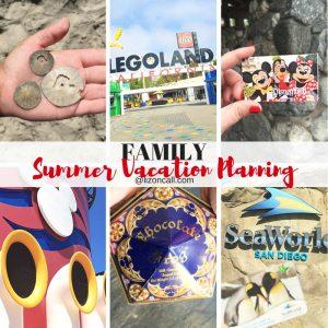Family Summer Vacation Planning