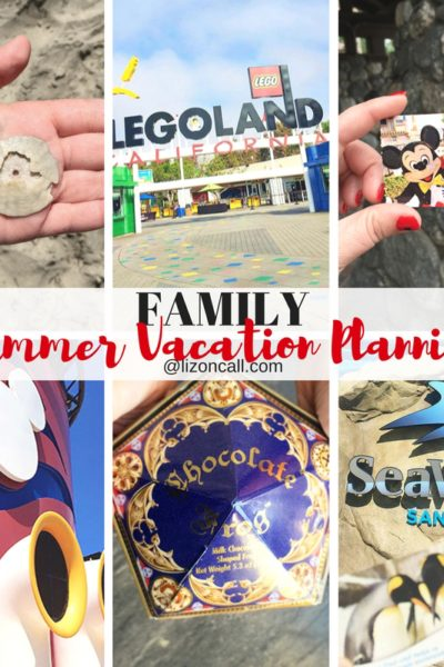 Family Summer Vacation Planning