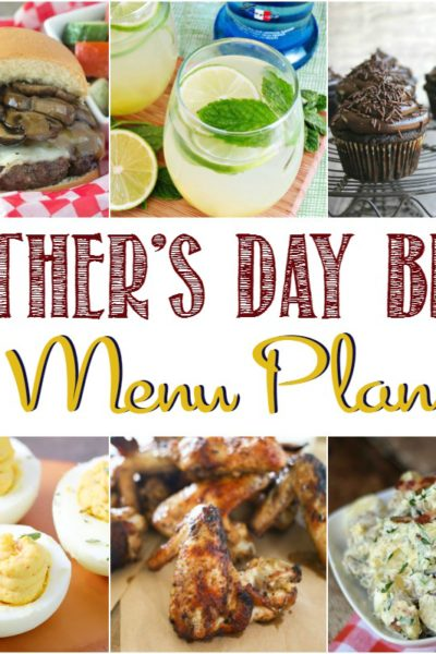 Father's Day Menu Plan